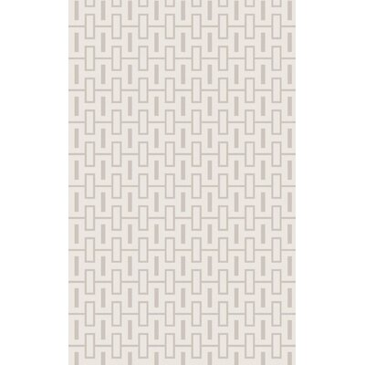 Ines� Light Gray Area Rug Rug Size: Rectangle 33 x 53