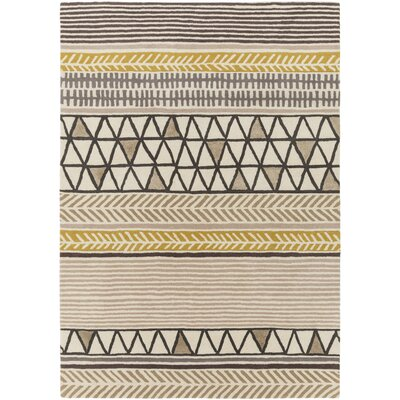 Julienne Hand-Tufted Area Rug Rug size: Rectangle 33 x 53