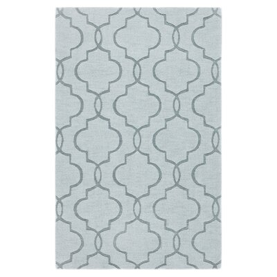 Vasques Green Area Rug Rug Size: 8 x 11