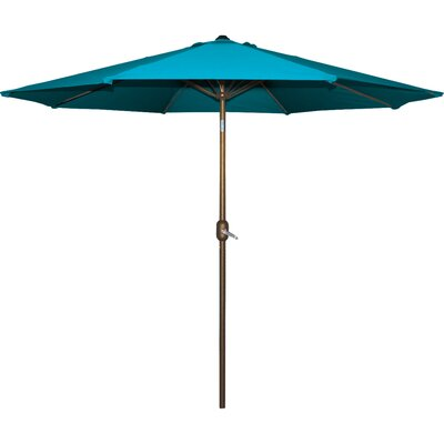 Cornelius 9 Market Umbrella Fabric: Teal