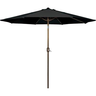 Cornelius 9 Market Umbrella Fabric: Black