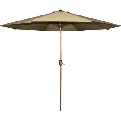 Cornelius 9 Market Umbrella Fabric: Natural