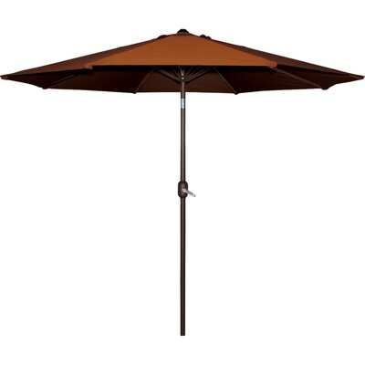 Cornelius 9 Market Umbrella Fabric: Terra Cotta