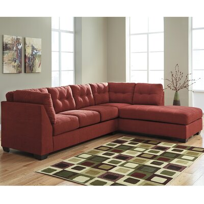 Cornett Sectional Upholstery: Sienna, Orientation: Right Arm Facing
