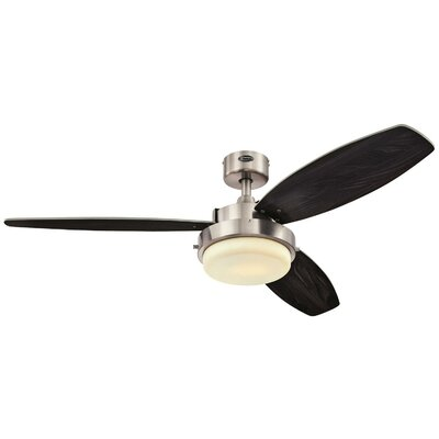 52 Corsa Two-Light Reversible Plywood 3 Blade Ceiling Fan