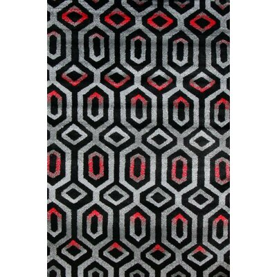 Carrizales Gray Indoor/Outdoor Area Rug Rug Size: 5 x 7