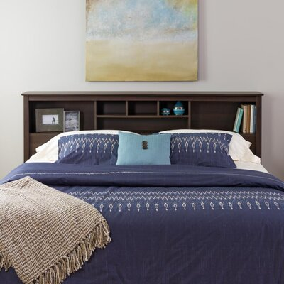 Valerio Bookcase Headboard Size: King