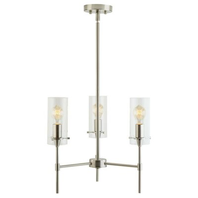Angelina 3-Light Candle-Style Chandelier