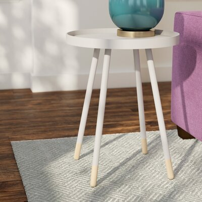 Fortney Tray Table Color: White