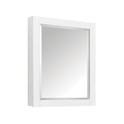 Martina 24 x 30 Surface Mount Medicine Cabinet Finish: White