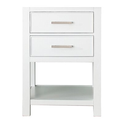 Cortland 24 Vanity Base Base Finish: White
