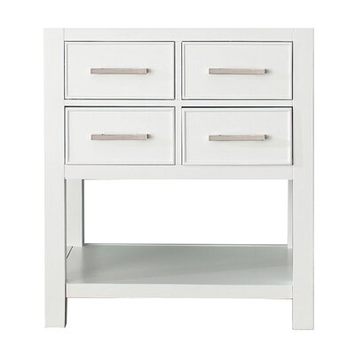 Cortland 30 Vanity Base Base Finish: White