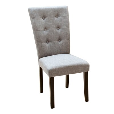 Danner Parsons Chair Upholstery: Grey