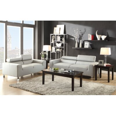 Wade Logan WDLN2062 Montvale Sofa and Loveseat Set Upholstery