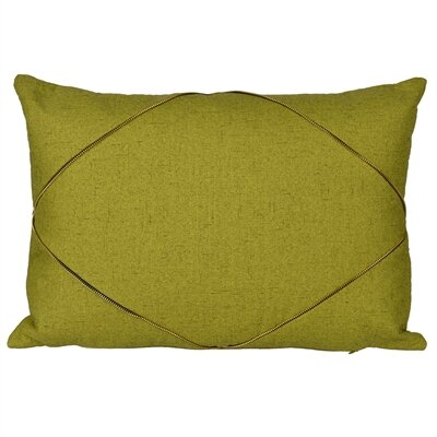 Marty Lumbar Pillow Color: Green