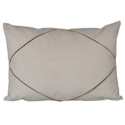 Marty Lumbar Pillow Color: Light Gray