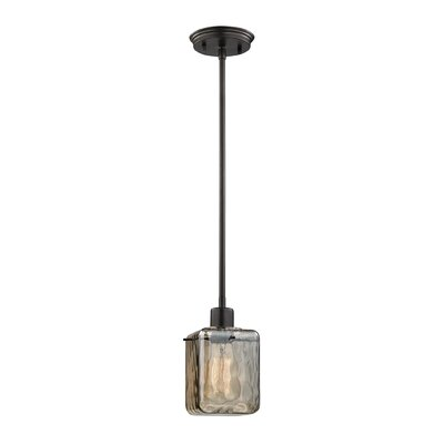 Darion 1-Light Mini Pendant Finish: Oil Rubbed Bronze
