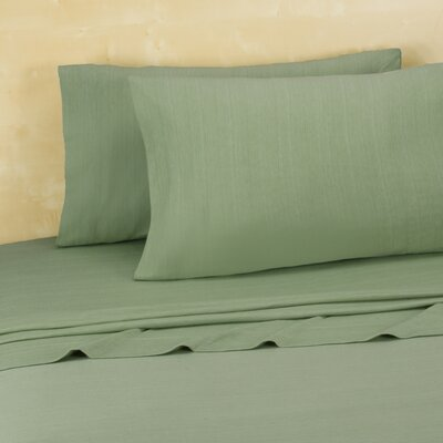 Darrington Extra Soft Jersey Sheet Set Size: Twin/Twin XL, Color: Green Eyes