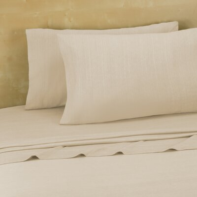 Darrington Extra Soft Jersey Sheet Set Size: Twin/Twin XL, Color: Oxford Tan