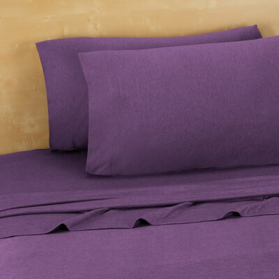 Darrington Extra Soft Jersey Sheet Set Size: Full, Color: Ultra Violet