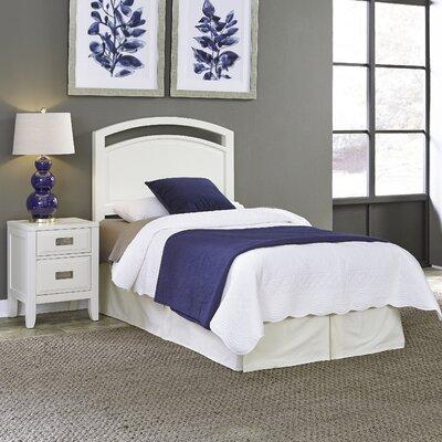 Darrow Panel 2 Piece Bedroom Set Size: Twin