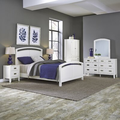 Darrow Panel 5 Piece Bedroom Set