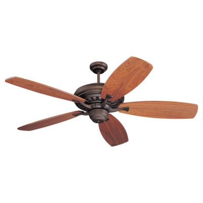 54 Desouza 5 Blades Ceiling Fan Finish: Roman Bronze