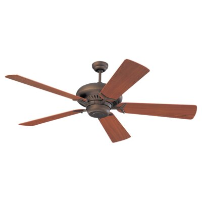 60 Anais 5 Blade Ceiling Fan Finish: Roman Bronze with American Walnut Blades