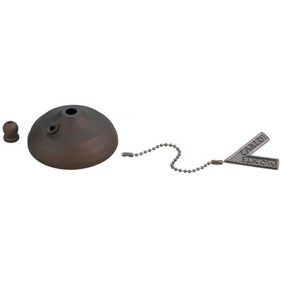 Desouza Ceiling Fan Pull Chain Bowl Cap Finish: Roman Bronze