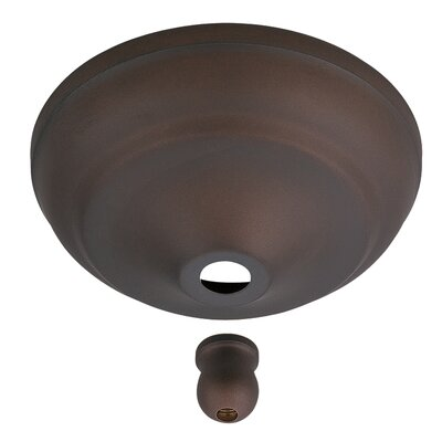 Anais Bowl Cap Kit for Concealing Pull-Chain Controls Finish: Roman Bronze