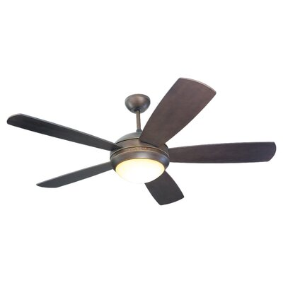52 Desouza 5 Blade Ceiling Fan Finish: Roman Bronze