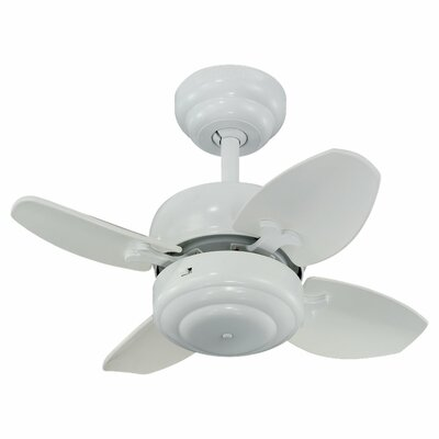 20 Beaton 4 Blade Ceiling Fan Color: White