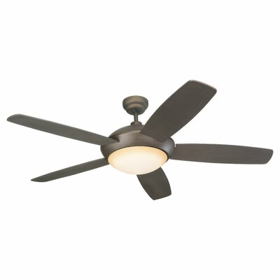 52 Beaton Modern 5 Blade Ceiling Fan with Wall Remote Color: Roman Bronze