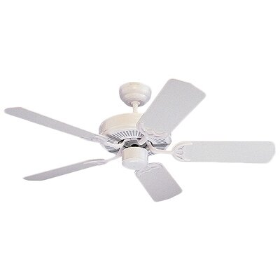Desouza 42 Ceiling Fan Finish: White with White Blades
