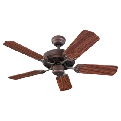 Desouza 42 Ceiling Fan Finish: Roman Bronze with Teak Blades