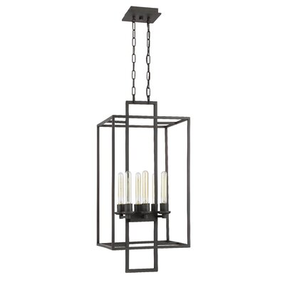 Borkowski 6-Light Foyer Pendant