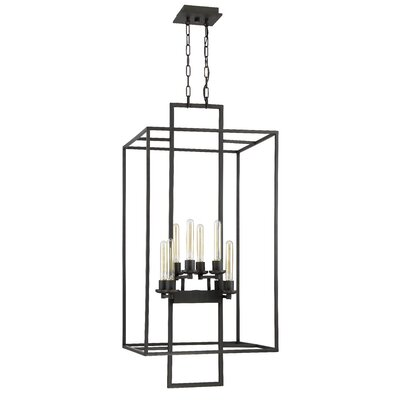 Borkowski 8-Light Foyer Pendant