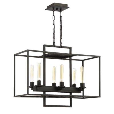 Borkowski 6-Light Candle-Style Chandelier