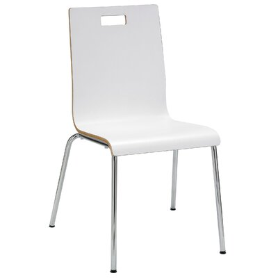 Avaya Side Chair Finish: White