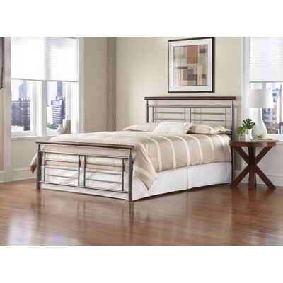 Borrero King Panel Bed