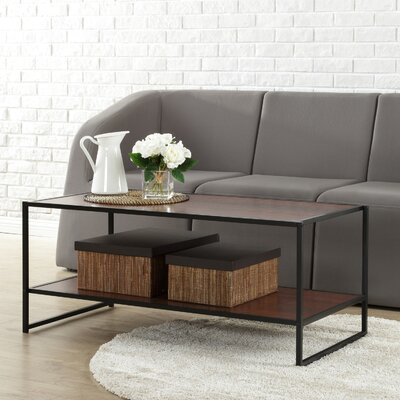Avey Coffee Table Finish: Rich Brown