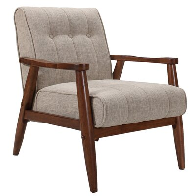 Bosco Armchair Finish: Khaki