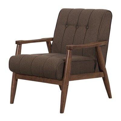 Bosco Arm Chair Finish: Brown
