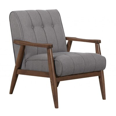 Bosco Armchair Finish: Grey