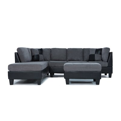 Boshears Reversible Chaise Sectional