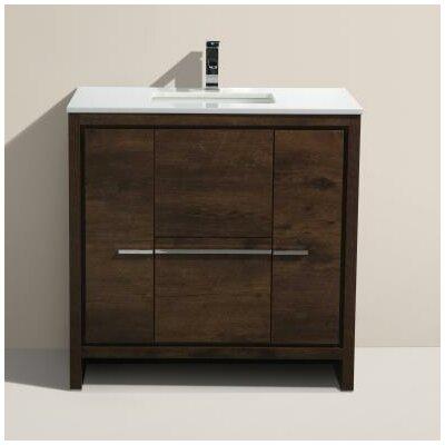 Bosley 36 Single Modern Bathroom Vanity Set