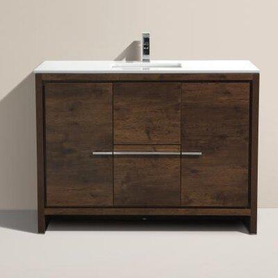 Bosley 48 Single Modern Bathroom Vanity Set