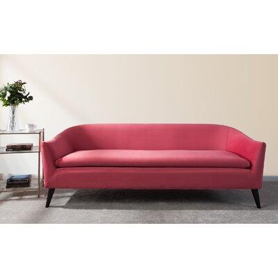 Goodale Mid-Century Modern Sofa Upholstery: Garnet Rose