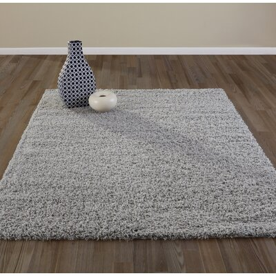 Bostrom Gray Area Rug Rug Size: Rectangle 67 x 93