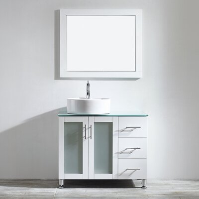 Boswell 36 Single Vanity Set with Mirror